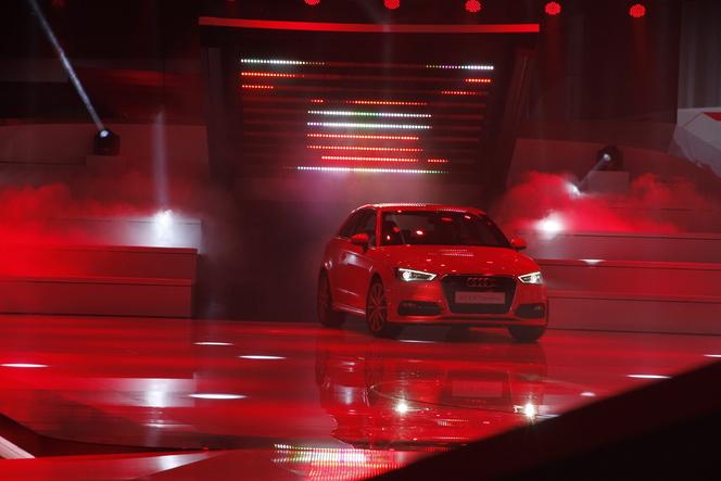Live Genève 2012 : nouvelle Audi A3, un style révolutionnaire