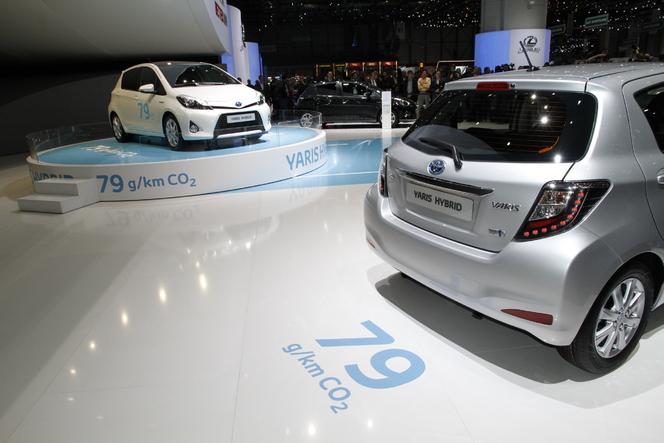 Vidéo en direct de Genève - Toyota Yaris Hybride 100 ch, 79 g et 16 500 euros
