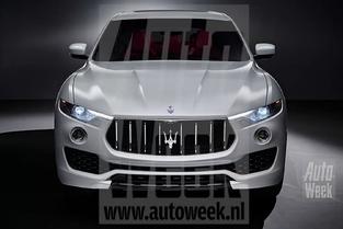 Salon de Genève 2016 : le Maserati Levante en avance