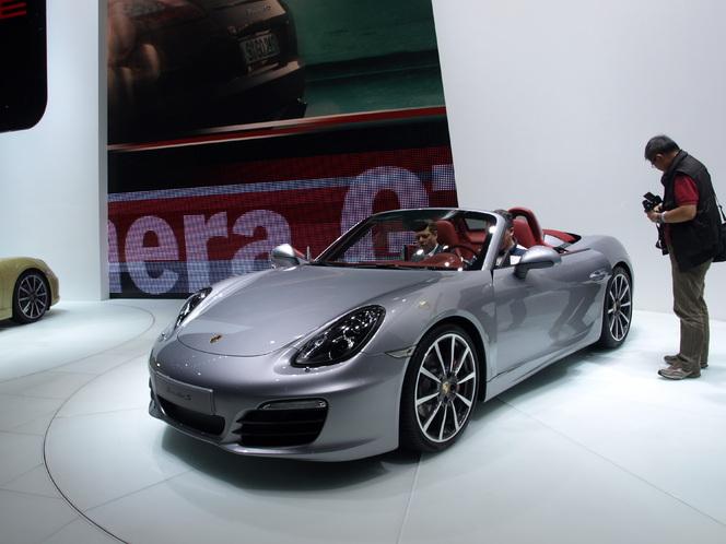 Salon de Genève 2012 : la Porsche Boxster en vidéo