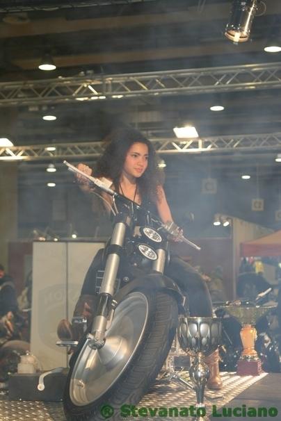Babes du Motor Bike Expo Verona - 2009