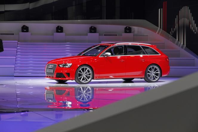 Genève 2012 Live : Audi RS4, break de chasse