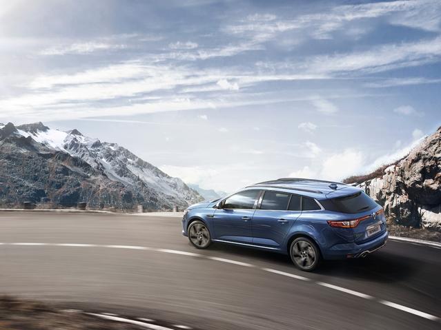 Salon de Genève 2016 : la Renault Mégane Estate se montre