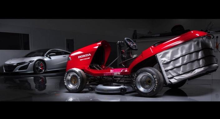 Honda lance une nouvelle tondeuse de 190 ch