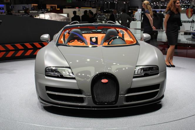 En direct de Genève 2012 : Bugatti Veyron Grand Sport Vitesse : une version de plus !