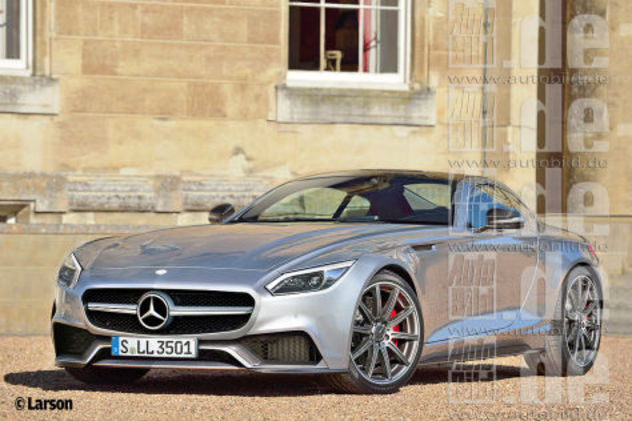 La future Mercedes GT, rivale de la Porsche 911 ressemblera-t-elle à ça?