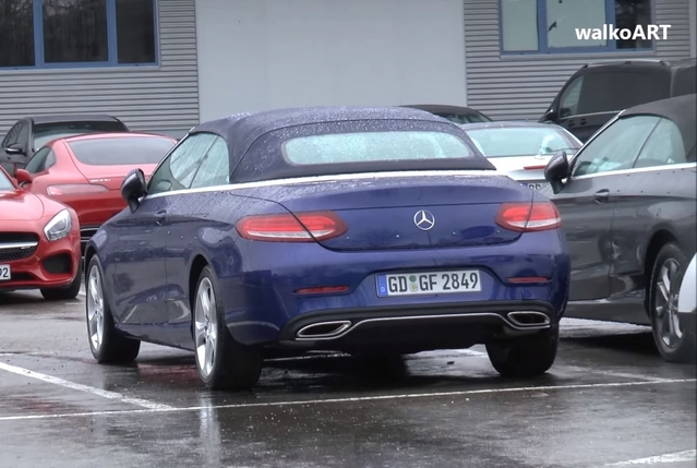 Surprise : voilà la Mercedes Classe C cabriolet