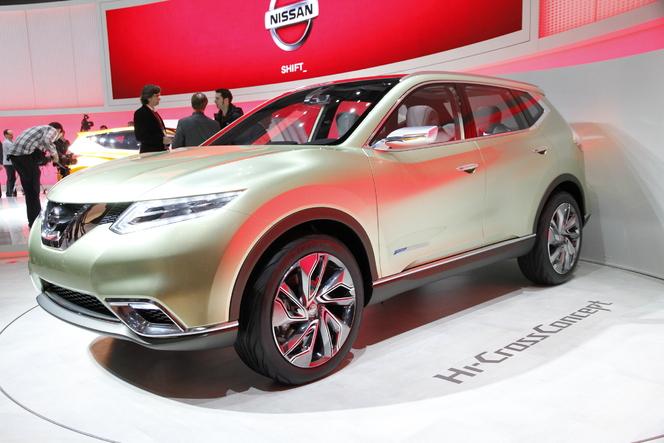 En direct de Genève 2012 : Nissan Hi-Cross, compact mais gros