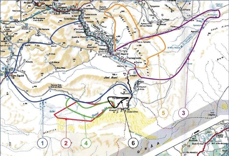 Découvrons le parcours du rallye du Maroc
