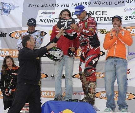 Antoine Méo champion du monde d'enduro pour la première fois