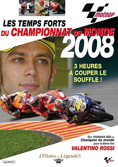 DVD : Moto Grand Prix 2008
