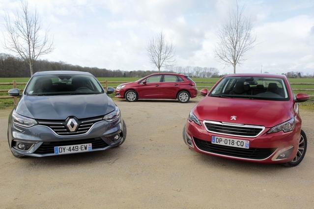 Comparatif vidéo - Renault Mégane vs Peugeot 308 vs Citroën C4 : quelle est la meilleure compacte française ?