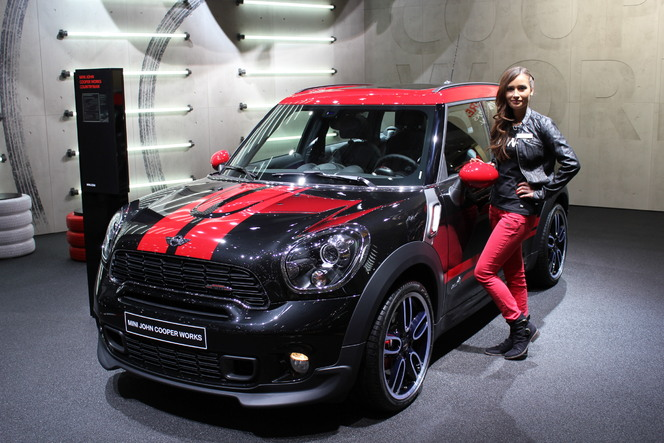 vid o en direct de gen ve 2012 mini john cooper works countryman. Black Bedroom Furniture Sets. Home Design Ideas