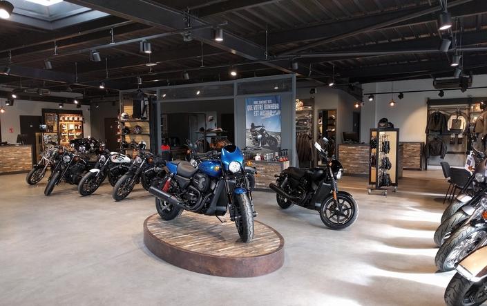 Harley-Davidson ouvre sa 55ème concession à Agen