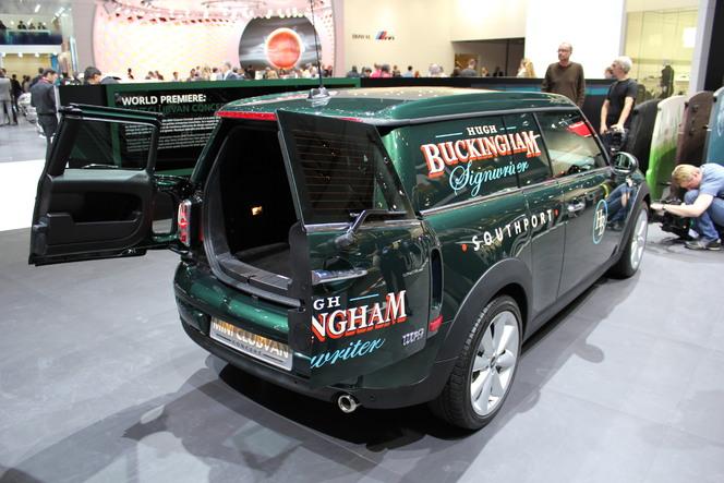 Genève 2012 : Mini Clubvan Concept  : utilitaire bourgeois