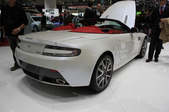 Geneve 2012 : Aston Martin V8 Vantage : ajustements