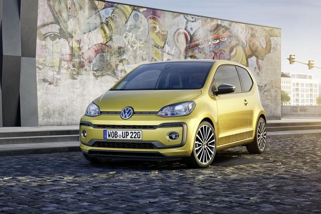 Salon de Genève 2016 - Volkswagen Up! restylée : discrétion assurée