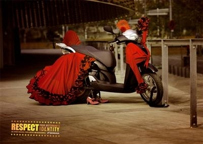 Pub Honda : Respect your motorbike's identity