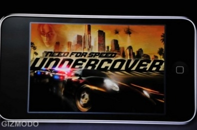 Need for Speed Undercover sur iPhone et iPod touch