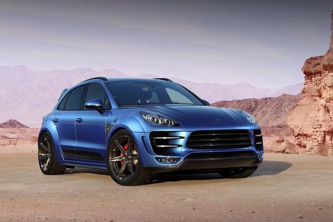 Moscou 2014 : Porsche Macan Ursa par TopCar