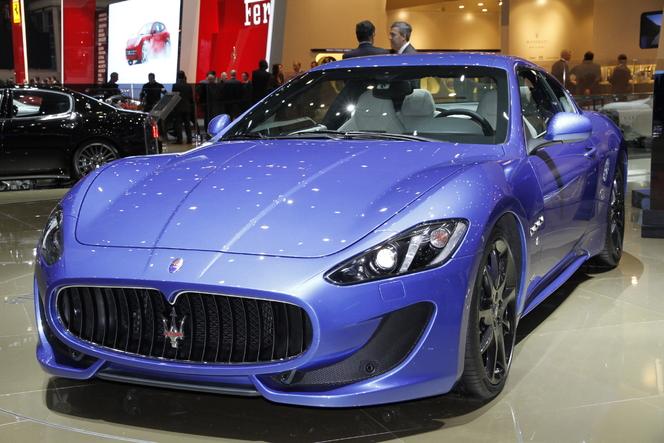 Genève 2012 Live : Maserati Granturismo Sport, un peu plus nouvelle que les autres