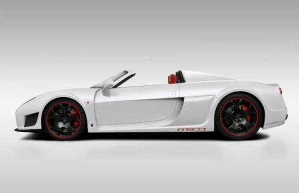 Un prototype de la Noble M600 Drophead en construction