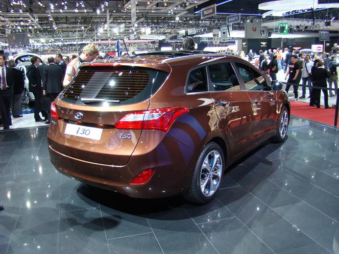 En direct du salon de Genève 2012 : Hyundai i30 SW, joli et pratique