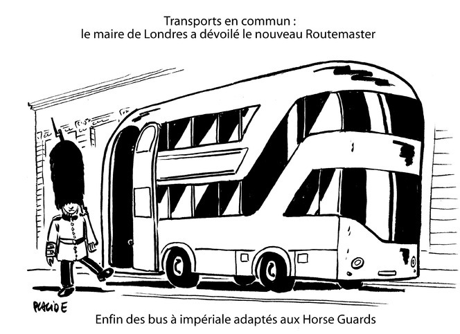 Le dessin du jour am nagement favorable du futur bus - Dessin d un bus ...