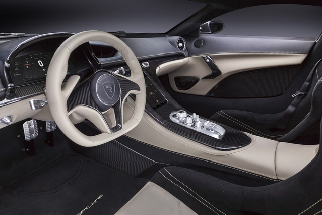 Salon de Genève 2016 - Rimac Concept_One : supercar électrique