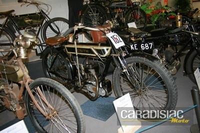 Musée de Valencay: 50 motos pour une exposition temporaire.