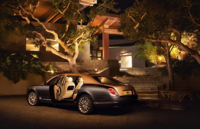 Salon de Genève 2016 - Bentley Mulsanne restylée : repoudrée et rallongée