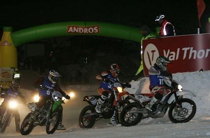 Ouverture du Trophée Andros à Val Thorens