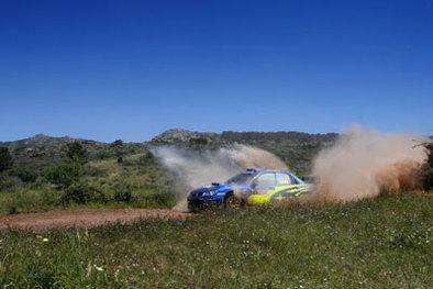WRC Sardaigne 1ere étape: Loeb malgré tout