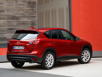 Mazda CX-5 restylé : comme ça ?