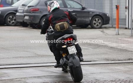 De nouvelles photos volées du futur Trail Ducati