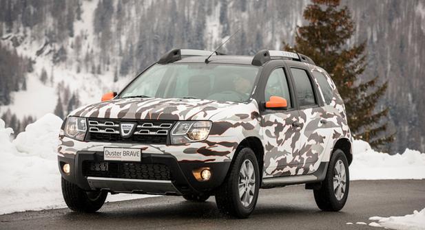 Dacia Duster Brave Extra Limited Edition: tenue camouflée de série!