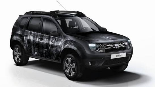 dacia duster brave extra limited edition tenue camoufl e de s rie. Black Bedroom Furniture Sets. Home Design Ideas