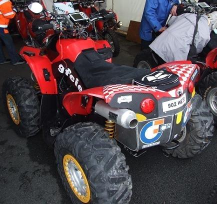 Quatre quads Can Am sur le Dakar chez MD Rallye Sport