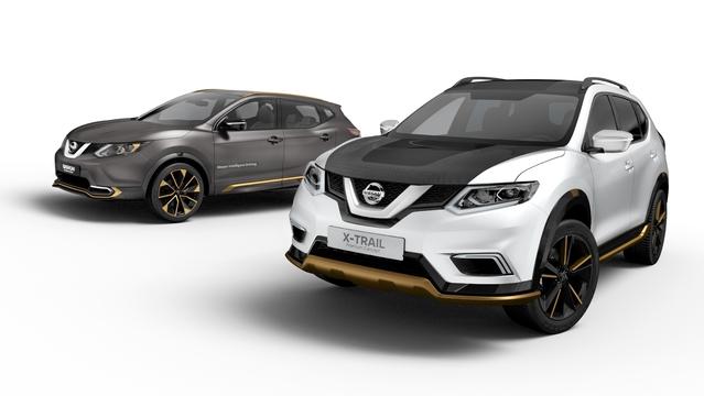 Salon de Genève 2016 - Nissan Qashqai et X-Trail Premium Concept : premium dans la boue