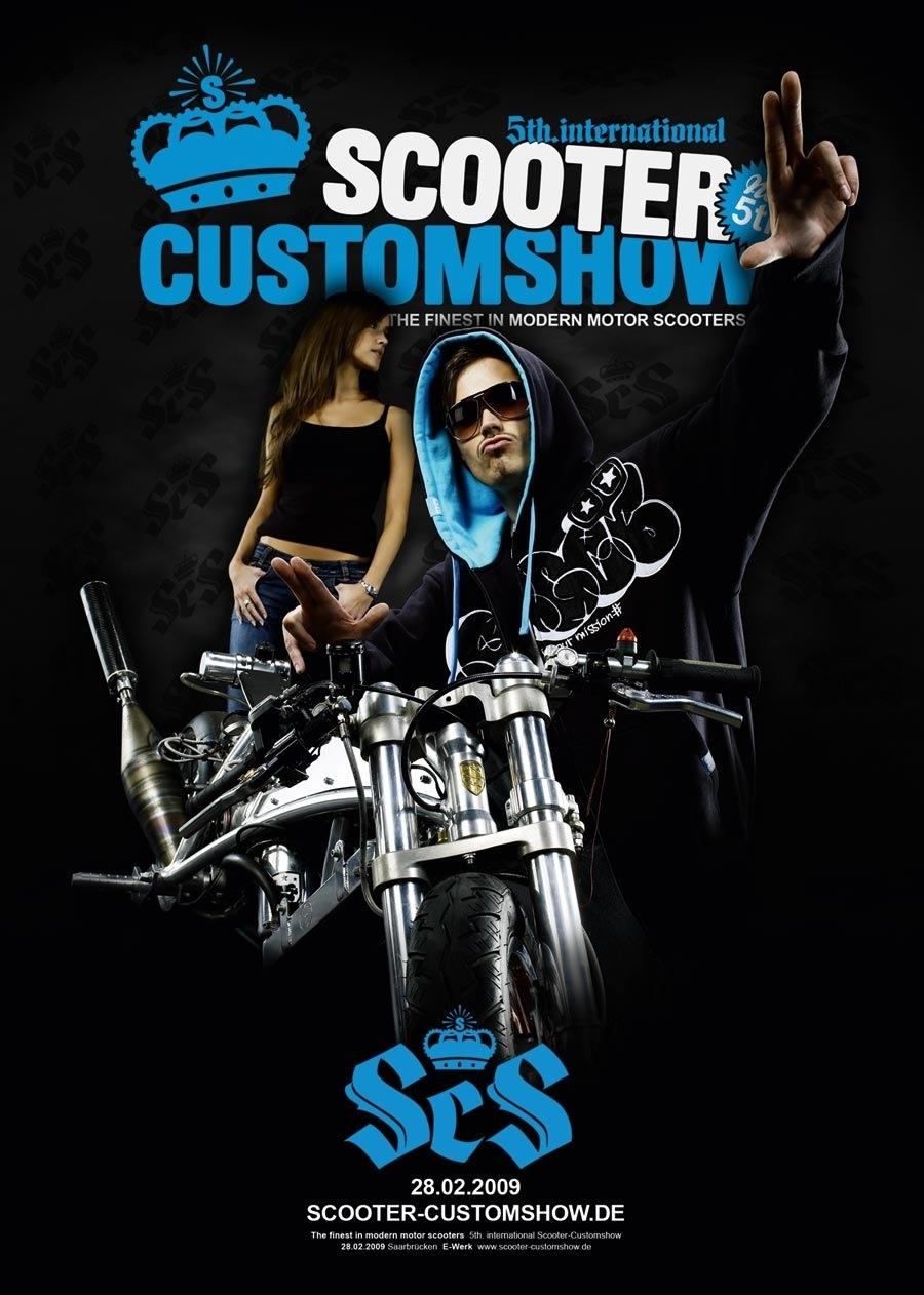 Calendrier : 5è édition du Scooter Custom Show le 28 Février