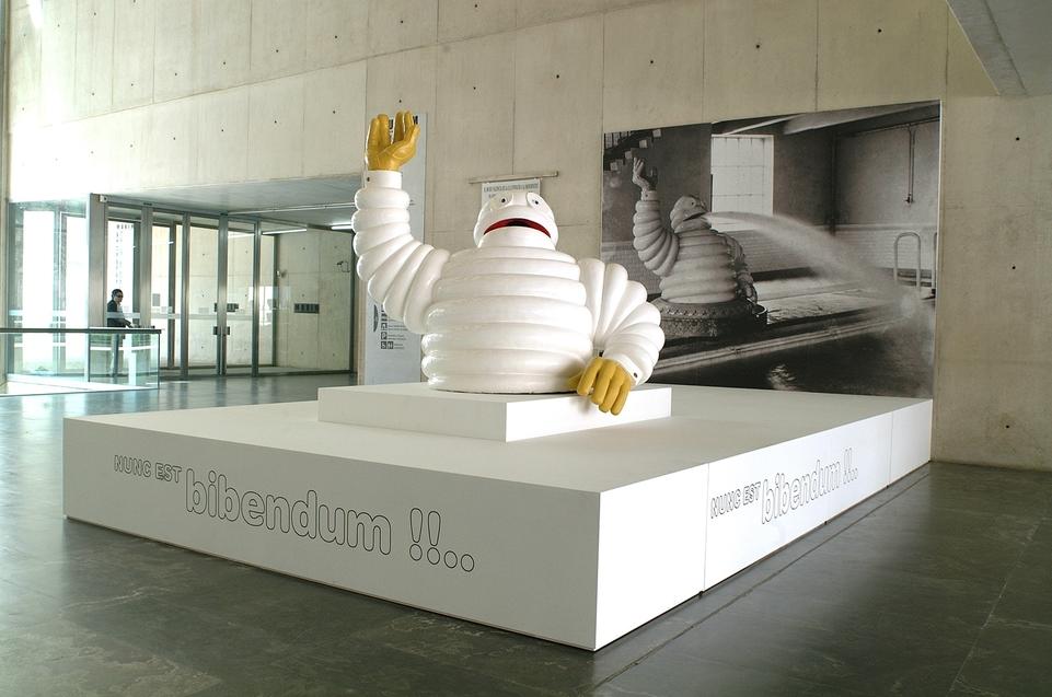 L'aventure Michelin : Un hall de 2000 m2 dédié à l'histoire du groupe