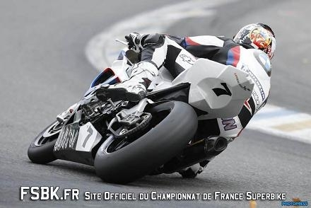 SBK France : Erwan Nigon champion