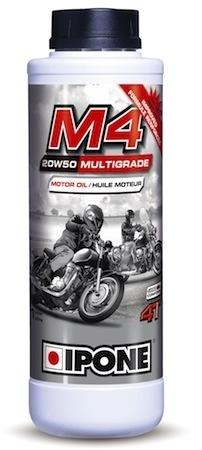 Ipone M4: pour les moteurs qui vibrent