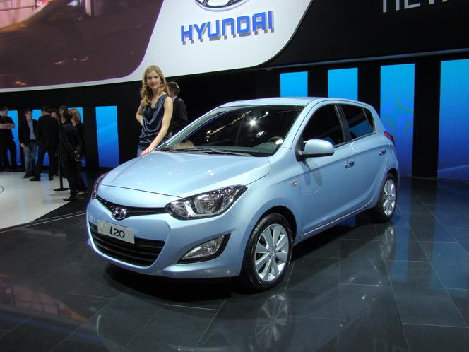 En direct du salon de Genève 2012 : Hyundai i20 restylée, mise à jour et plus séduisante