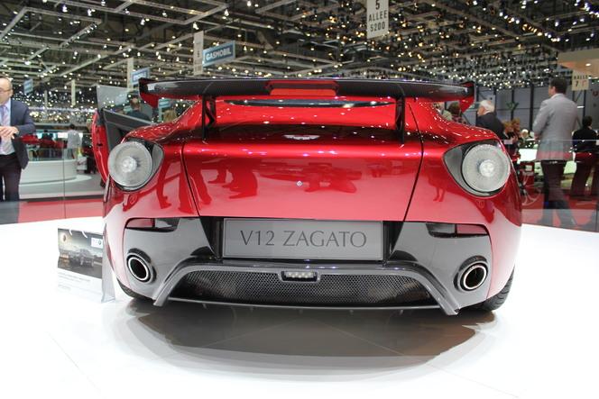 Genève 2012 : Aston Martin V12 Zagato : pépite
