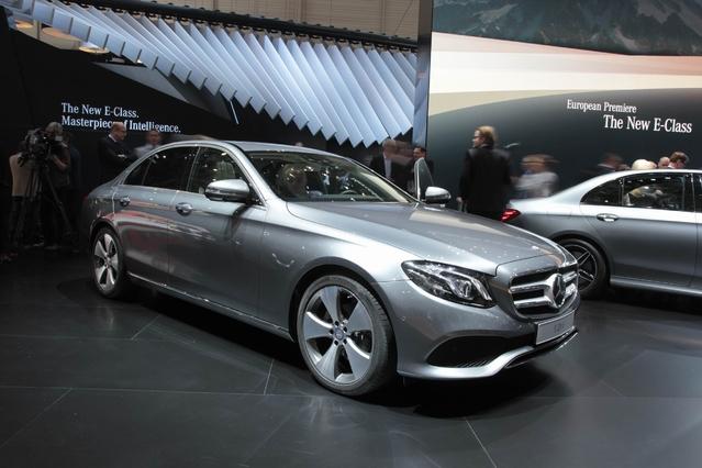 Nouvelle Mercedes Classe E : classique - Vidéo en direct du salon de Genève 2016 + 1er Live