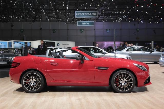 Mercedes SLC : ex SLK - Vidéo en direct du Salon de Genève 2016