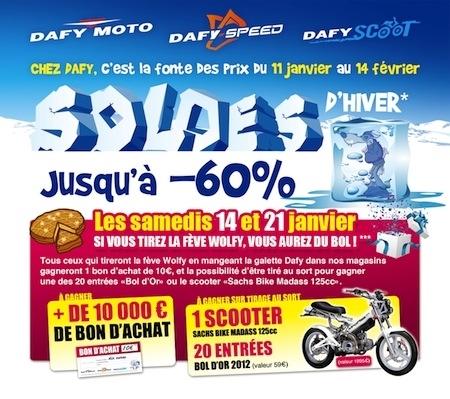 Dafy: soldes en janvier et jeu concours