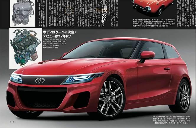 Toyota va-t-il lancer une compacte basée sur la BMW Série 1 ?
