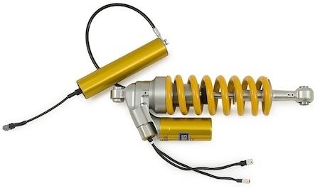 Ohlins Mecatronic: suspensions gérées électriquement